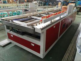 供应上海金纬机械PVC木塑快装墙板挤出设备