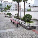 河南洛陽PVC護欄生產廠家 塑鋼綠化圍欄