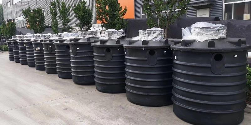 地埋式生活污水处理设备_日式一体化农村分散式净化槽