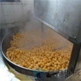 豆泡油炸机大小可定制 豆泡油炸设备自动搅拌专用