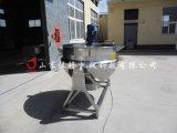 米糕专用可倾式夹层锅,河南电加热夹层锅