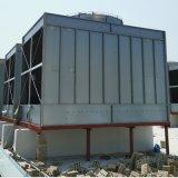 專業生產超靜音型空調方形冷卻塔 工業型高溫冷卻塔 玻璃鋼冷水塔