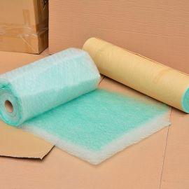 烤漆房漆雾过滤棉 油漆过滤棉 地棉 玻璃纤维过滤棉