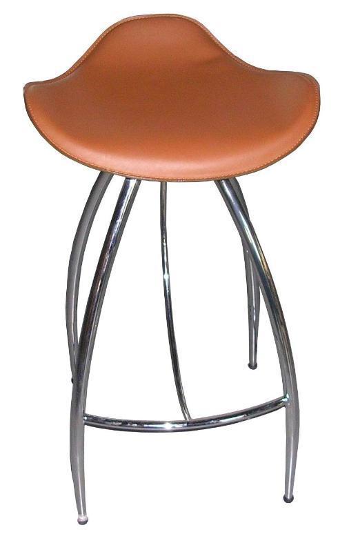 工厂直销钢木皮革酒吧椅