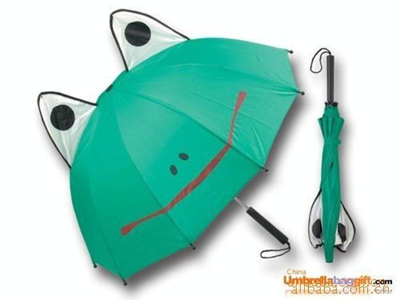 儿童用品广告伞 卡通儿童广告雨伞定制 上海工厂