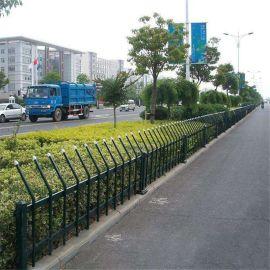 厂家批发公园绿地护栏 不锈钢小区草坪护栏插接锌钢围栏杆定制
