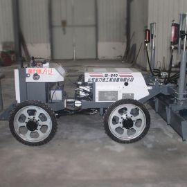小型激光整平机四轮 全自动混凝土摊铺机 激光摊铺机