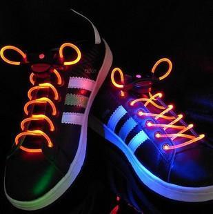 TPU透明LED发光鞋带