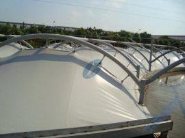 污水池加盖, 钢支承反吊氟碳纤膜结构, 找金瑞泰公司