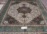 真絲地毯 手工編織