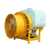 瓦力機械3WFX-500果園拖拉機揹負式風送打藥機