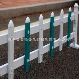 白色pvc草坪围栏公园路边锌钢草坪防践踏护栏