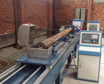 混凝土輸送泵管熱處理淬火加工成套設備