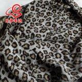 2015流行豹纹提花面料布料  羊毛呢面料