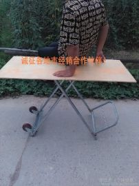 鍍鋅鋼管 多功能車桌 地攤桌 手拉車 摺疊桌 商品展示架