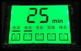 宁波恒晶衣服烘干机控制板液晶显示屏