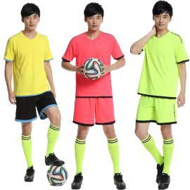 新款足球运动服 ,空白运动服印字印号, 足球队服