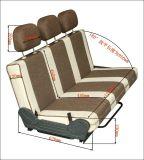 折叠平放旅居车/商务车/多功能手动房车改装座椅/床F90