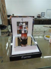 磁悬浮化妆品展示架 新奇特磁悬浮创意摆件 磁悬浮地球仪订制