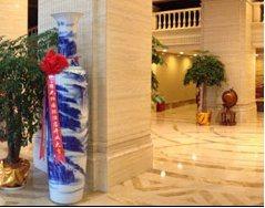 西安大花瓶销售 西安陶瓷大花瓶销售 西安迎客松花瓶批发