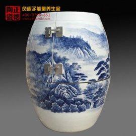 景德镇青花瓷美容活瓷能量缸