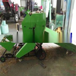 厦门市畜牧养殖鲜秸秆青草储存专用的青贮打捆机厂家