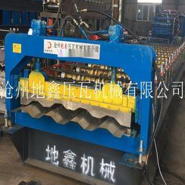 非标厢房瓦楞墙板压型机 1.5集装箱板压瓦设备