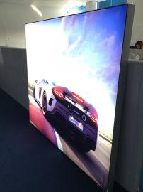 上海舰引厂家直销高品质led光源广告灯箱 单面8cm卡布灯箱