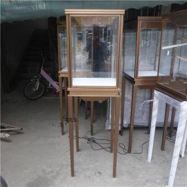 卡地亚不锈**宝展示柜定做 珠宝会所橱窗展示精品高柜
