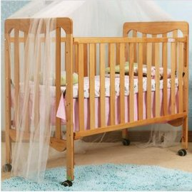 贝安诺环保婴儿床 童床艾吉克德国榉木实木0甲醛无漆木蜡油工艺