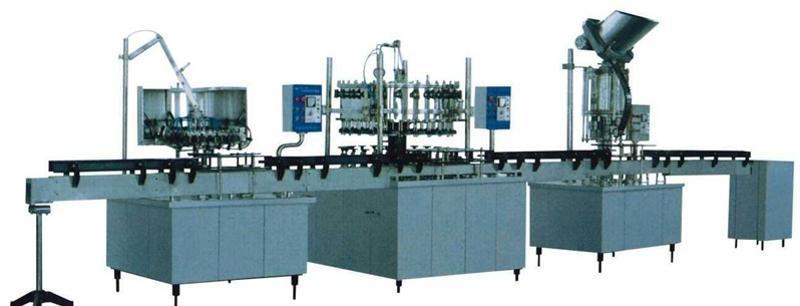 供应全自动瓶装饮料生产设备/分体式小瓶灌装线