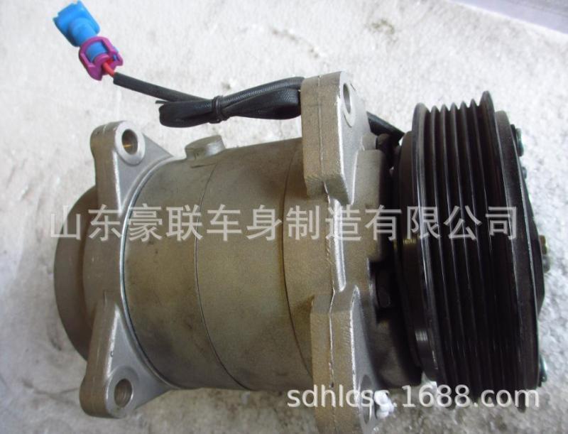 一汽解放解放天V空调压缩机解放天V空调压缩机厂家直销价格图片