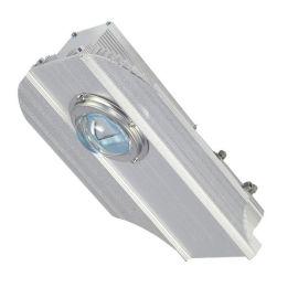 led路灯头 型材平板灯50W80W120W集成透镜小航母路灯头外壳套件