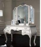 台式化妆镜 欧式镜子双面梳妆镜 便携公主镜 正品带放大面
