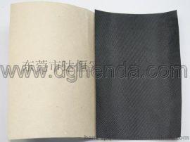 东莞专业背胶加工黑色210D牛津布背胶加工