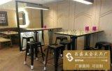 北欧实木餐椅 黑胡桃休闲椅子批发 咖啡厅酒店西餐厅餐桌椅组合