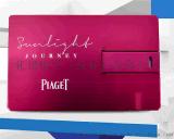 卡片U盘 超薄金属广告卡片式U盘彩印logo 便携名片优盘 随身碟