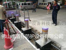 供应高速路带LED灯防撞自动升降桩,NGM全自动液压升降柱,防冲撞升降阻车路障