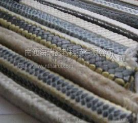 芳纶交织四氟盘根-改性四氟垫片供应商-南通海瑞密封