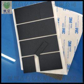 网纹橡胶脚垫 黑色硅胶垫 可定制