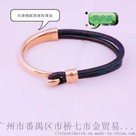 珠宝首饰手链,皮绳手链