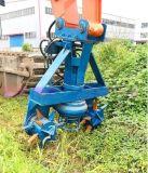 山东江淮JHW抽鹅暖石泵通用挖掘机钢厂排渣泵泵体样貌