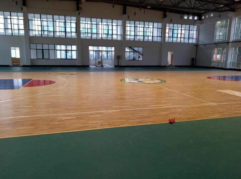 枫木运动木地板深圳厂家专业施工木地板室内外运动场地
