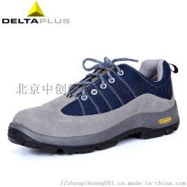 代尔塔301322防砸防穿刺耐磨PU鞋底安全劳保鞋