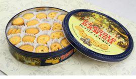 山东铁盒包装厂家供应圆形月饼铁盒 饼干铁盒包装