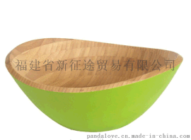 NJSB1-014 Hotel salad bowl,Creative bamboo products 沙拉碗