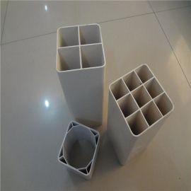 厂家直销生产pvc栅格管 四孔格栅  雄县鹏源生产