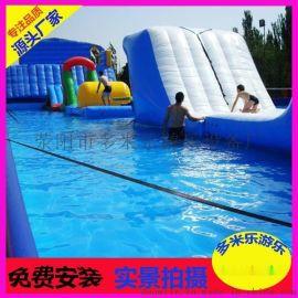 销售火爆的游乐设施充气水池报价小型室外儿童充气游泳池厂家