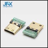 金屬USB電源充電插口網路手機6.35插口系列網線音頻電話插口
