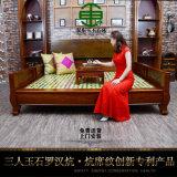 双东玉玉石床垫DY002新中式玉石炕温热保健床